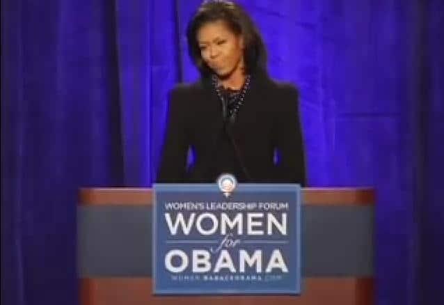 Michelle at Women's Leadership Forum