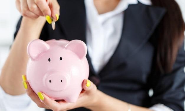 Vrouwen sparen voor later