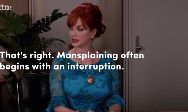 Laat vrouwen uitpraten