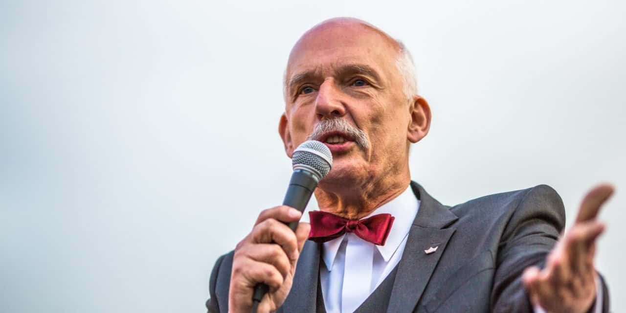 Deze man is gek: Janusz Korwin-Mikke