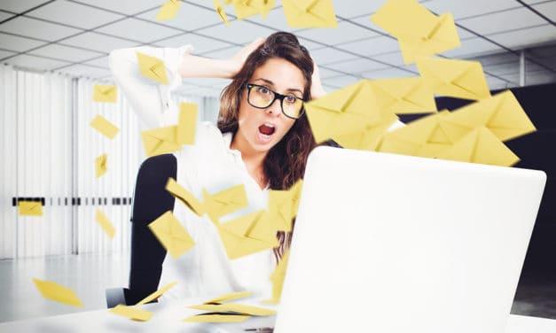 3 tips om stress door werkmail tegen te gaan