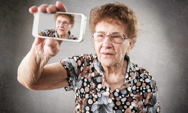 Te oud voor een selfie? Nooit!