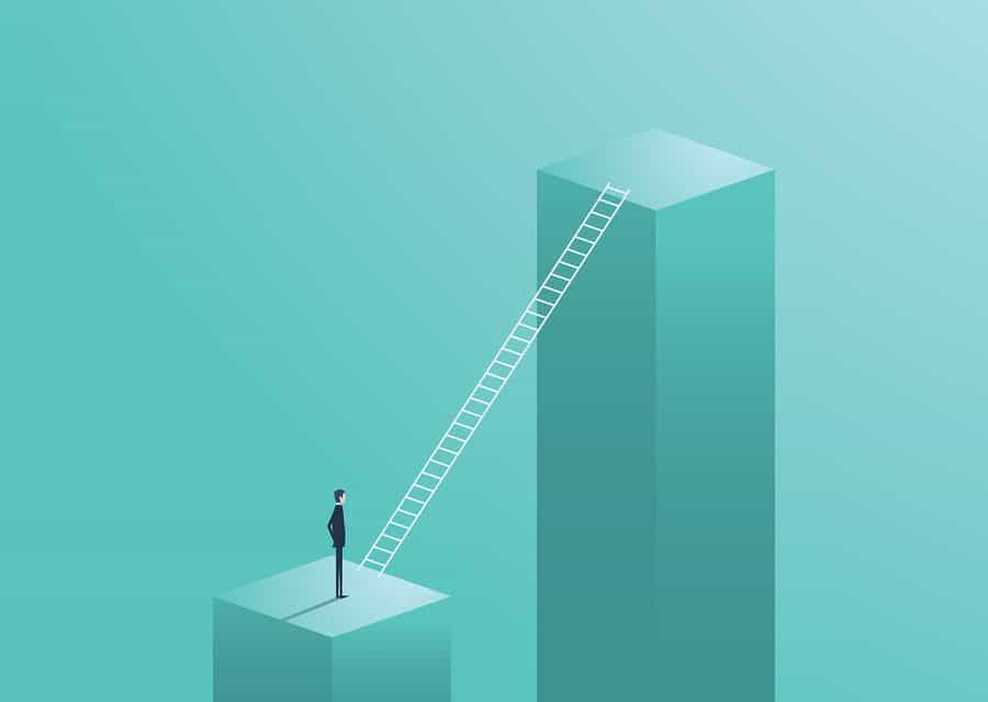 In 3 stappen naar de top