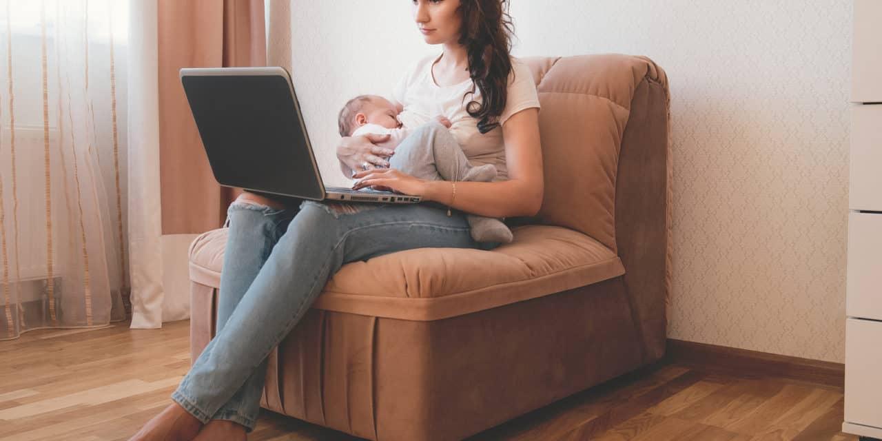 Eva Jinek is geen slechte moeder als ze met borstvoeding stopt