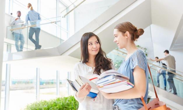 Opmars van vrouwen in het hoger onderwijs