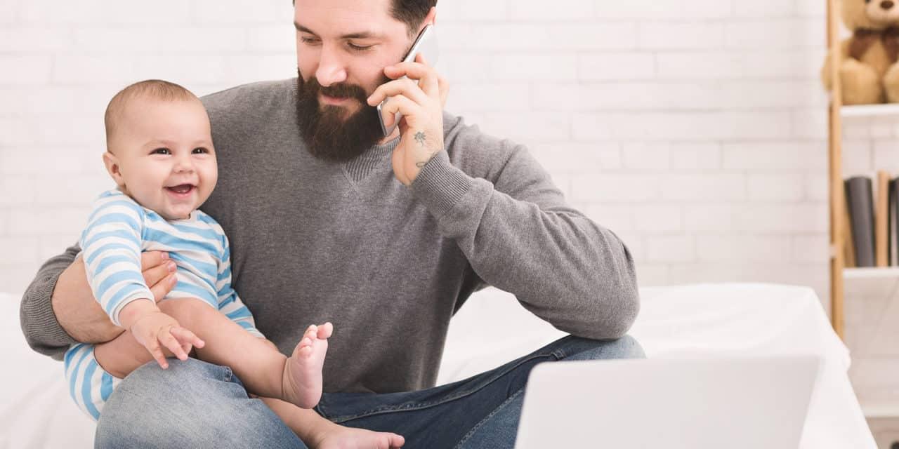 Voorbeeld van leidinggevende bepaalt hoeveel verlofdagen vaders opnemen