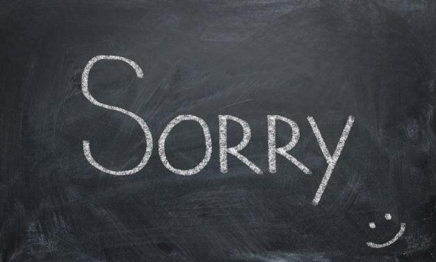 Waarom vrouwen sneller sorry zeggen