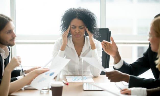 Managers zijn meer vatbaar voor werkstress