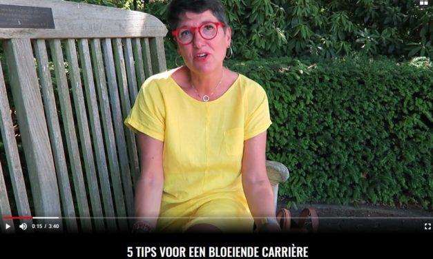 5 tips voor een bloeiende carrière