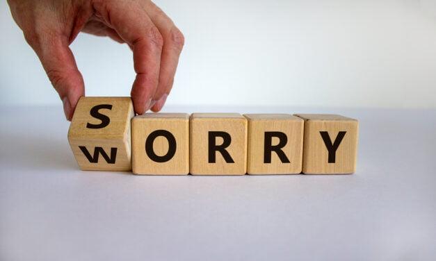 Vrouwen, stop met sorry zeggen