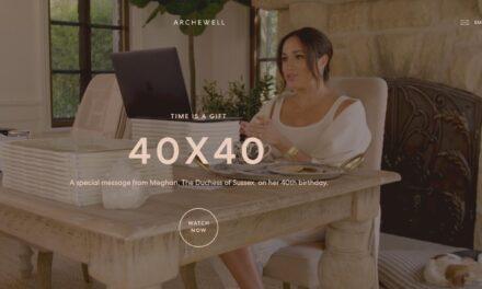 Meghan Markle werd 40 en lanceert het 40×40 initiatief; ondersteuning van vrouwen.